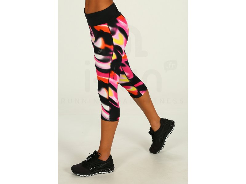 Fuzex W Asics Corsaires Vêtements Knee Tight Femme 8nvNm0wO