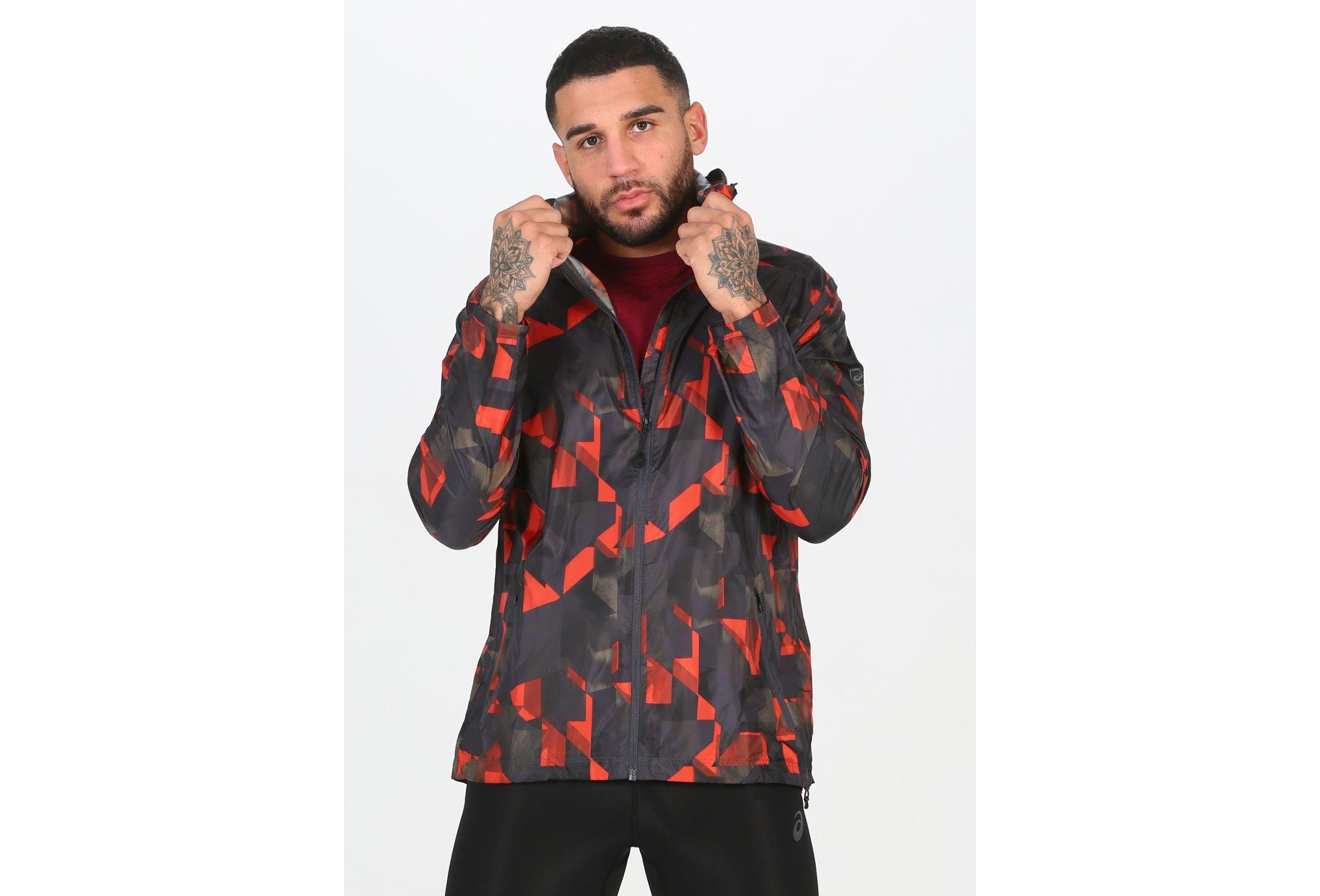 Asics FuzeX Packable M Diététique Vêtements homme