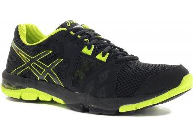 Craze Homme Gel Chaussures Asics Noir Jaune Tr Training 3