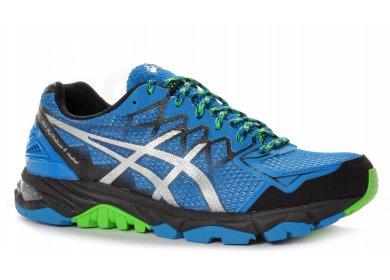 Chaussures Asics Gel Fuji Trabuco bleues homme lB9Of2jvf