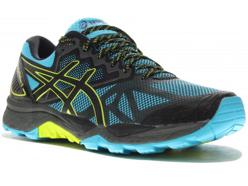 Asics Gel FujiTrabuco 6 W pas cher - Chaussures running femme running Trail  en promo bf247be04ab5