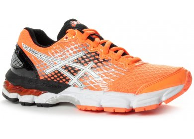 4b4c1cf704e93 Asics Gel Nimbus 17 Junior femme Orange pas cher