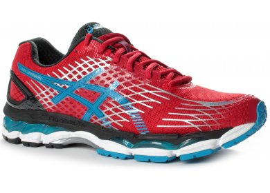 asics gel nimbus rouge