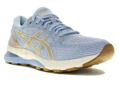 best quality on feet at quality design Asics Gel-Nimbus 21 W femme Bleu pas cher