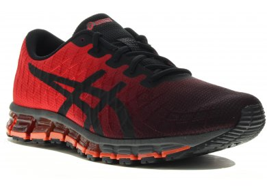 asics homme rouge