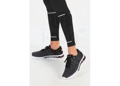 asics gel quantum 360 knit blanc chaussures de running homme