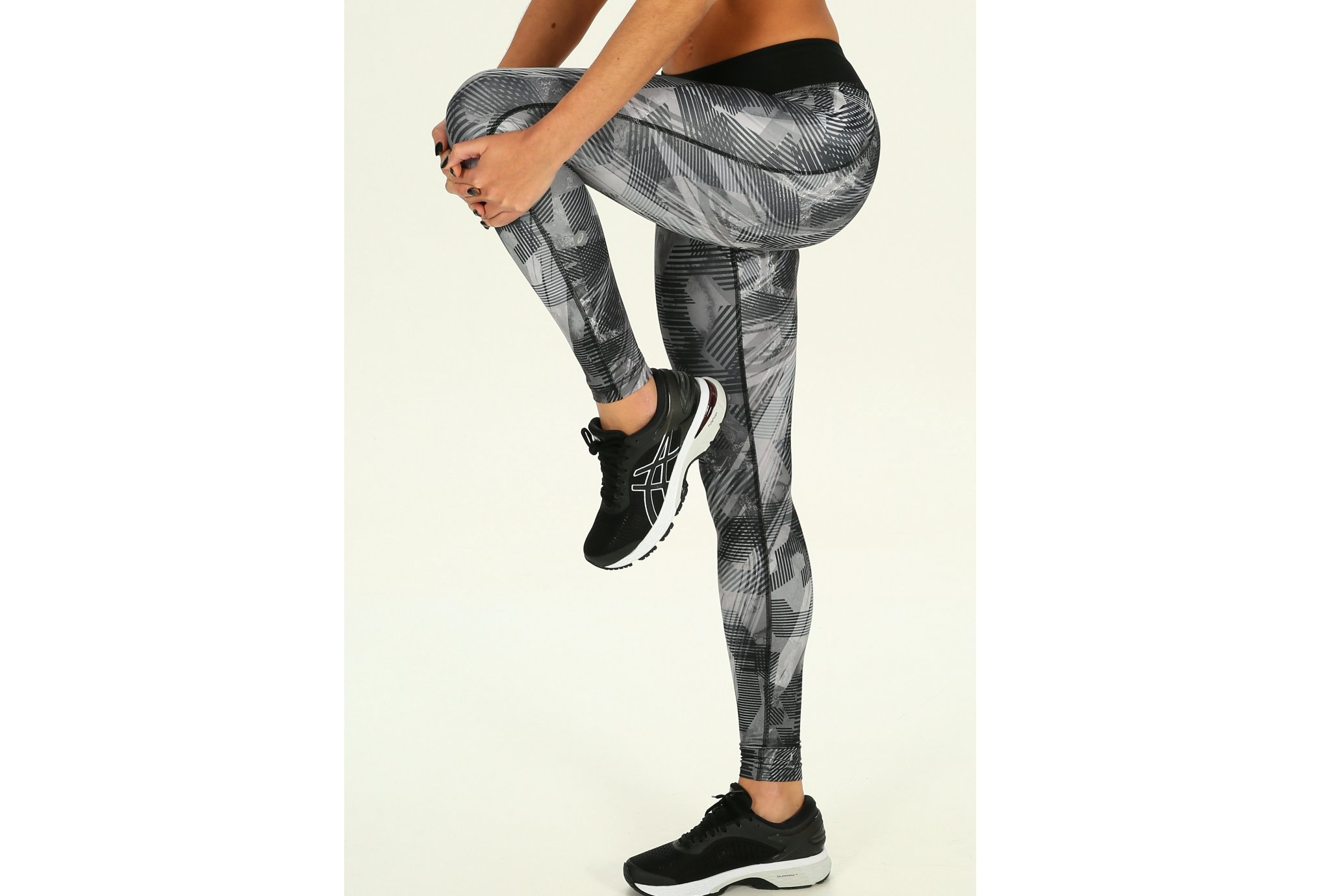 Asics Graphic Tight W vêtement running femme