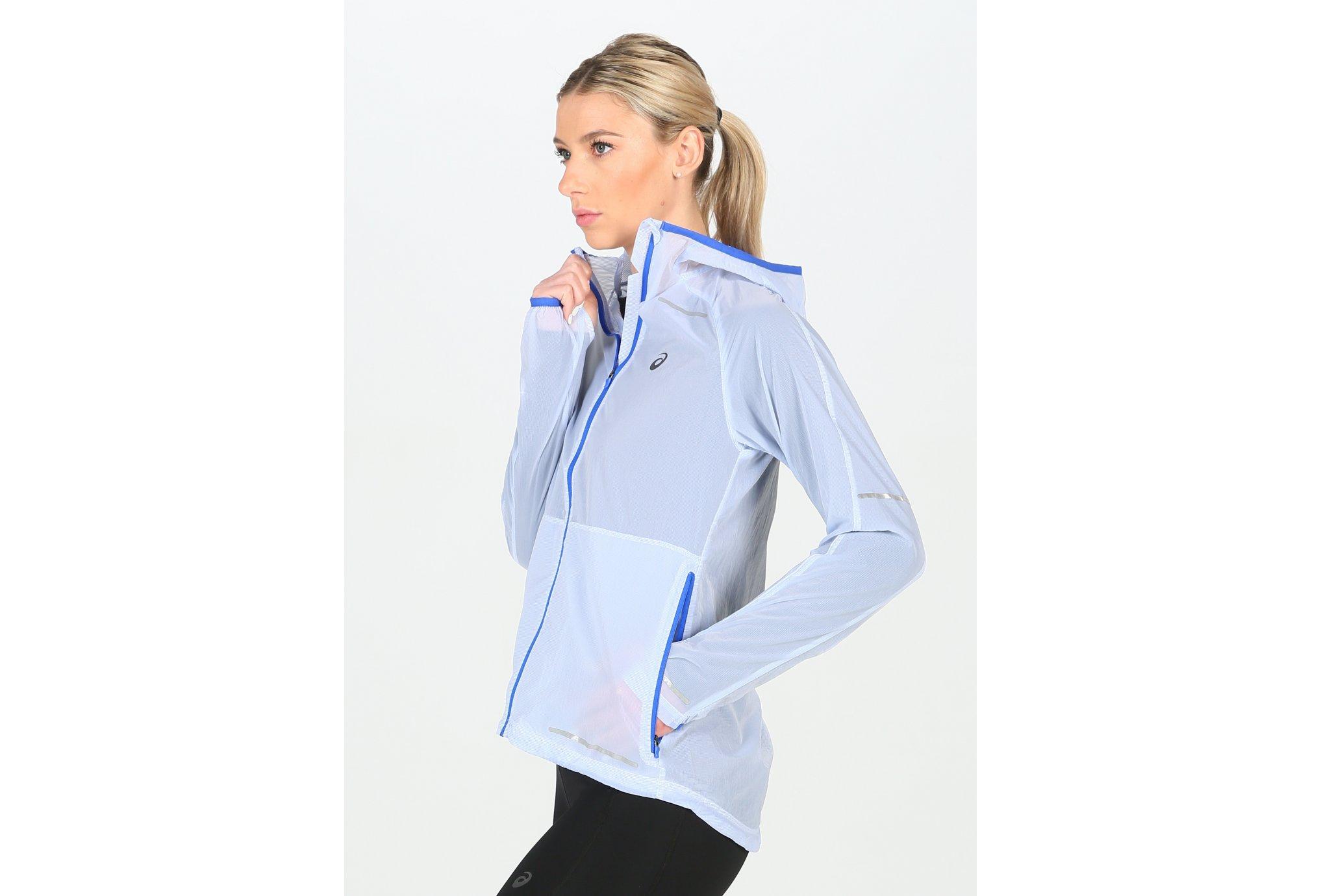 Asics Lite-Show Jacket W vêtement running femme