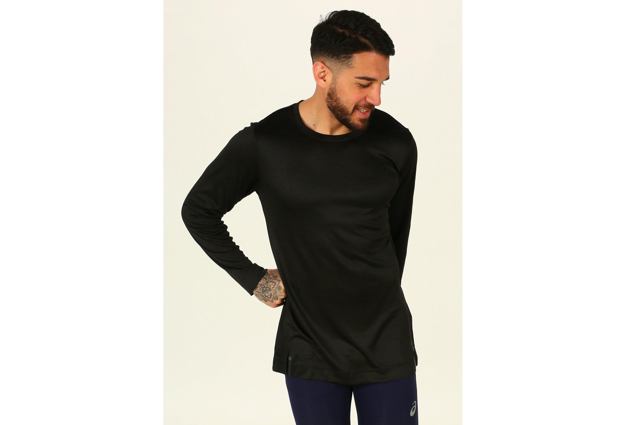 Asics Long-Sleeved Top M vêtement running homme