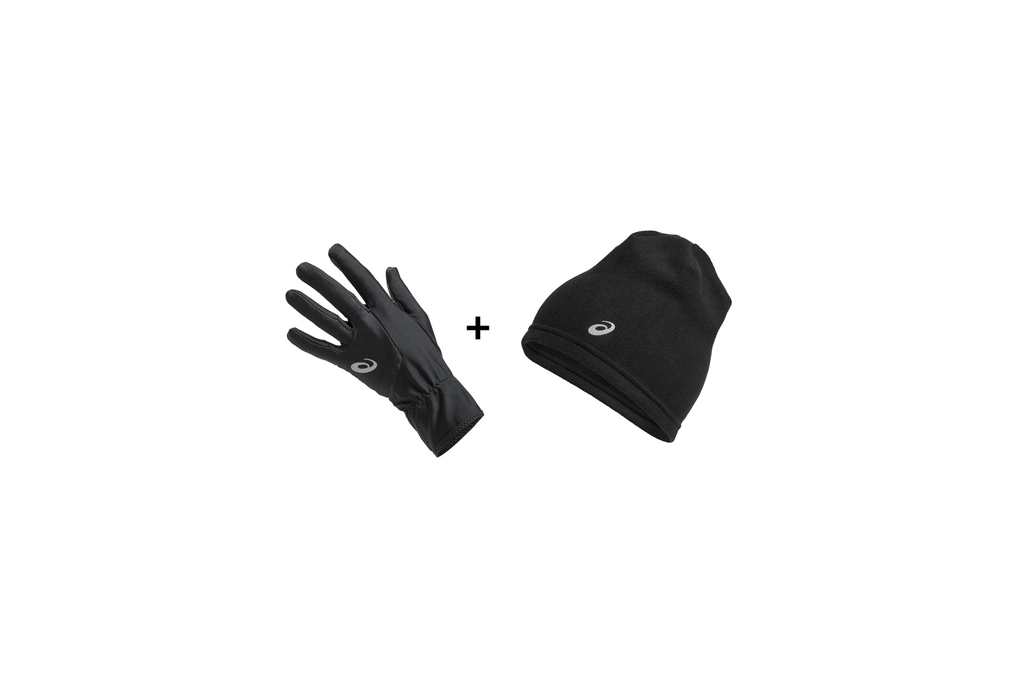 Asics Pack Beanie Performance + Running Gloves Performance Bonnets / Gants
