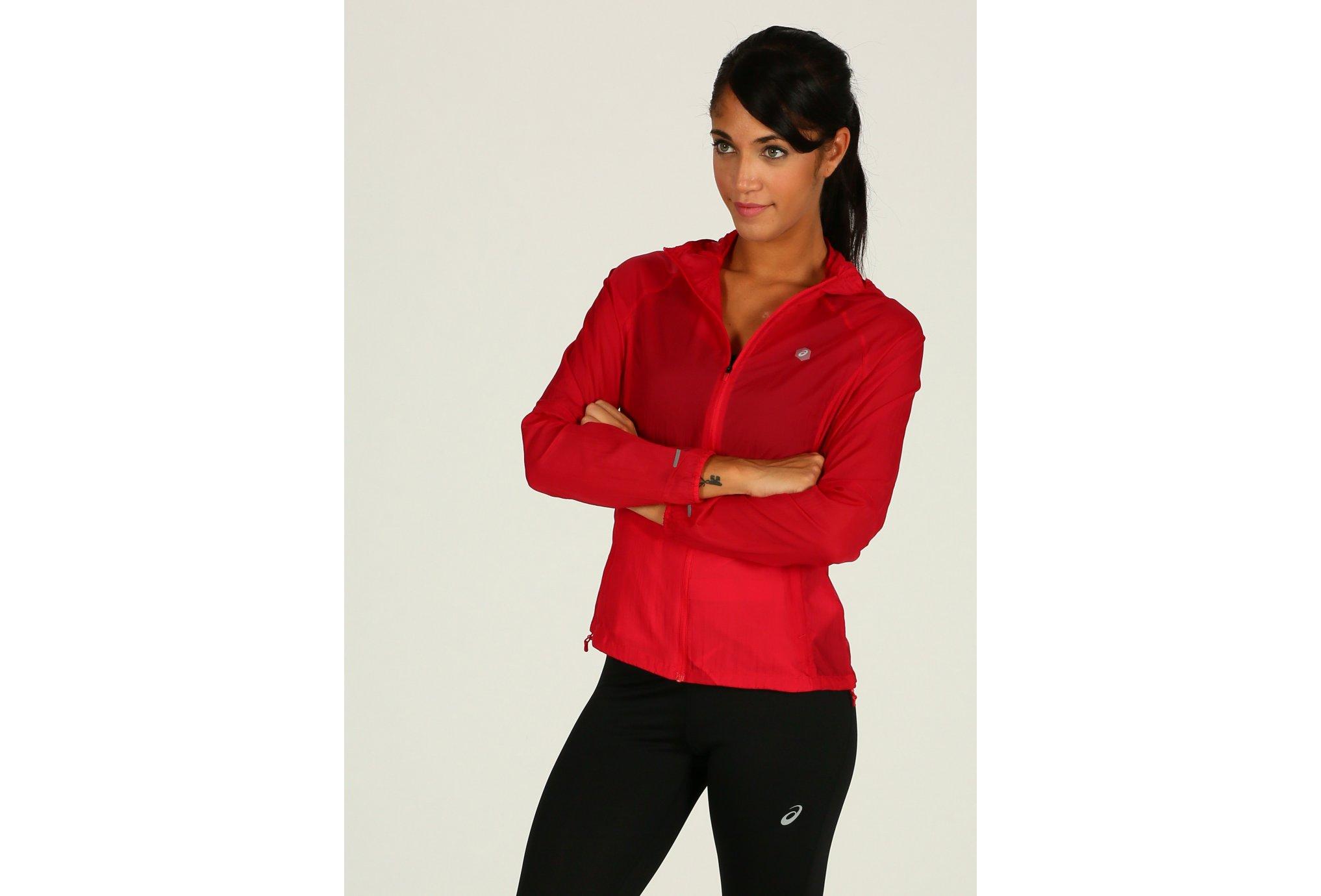 Asics Packable Jacket W vêtement running femme