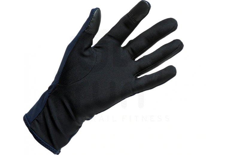 guantes asics running hombre
