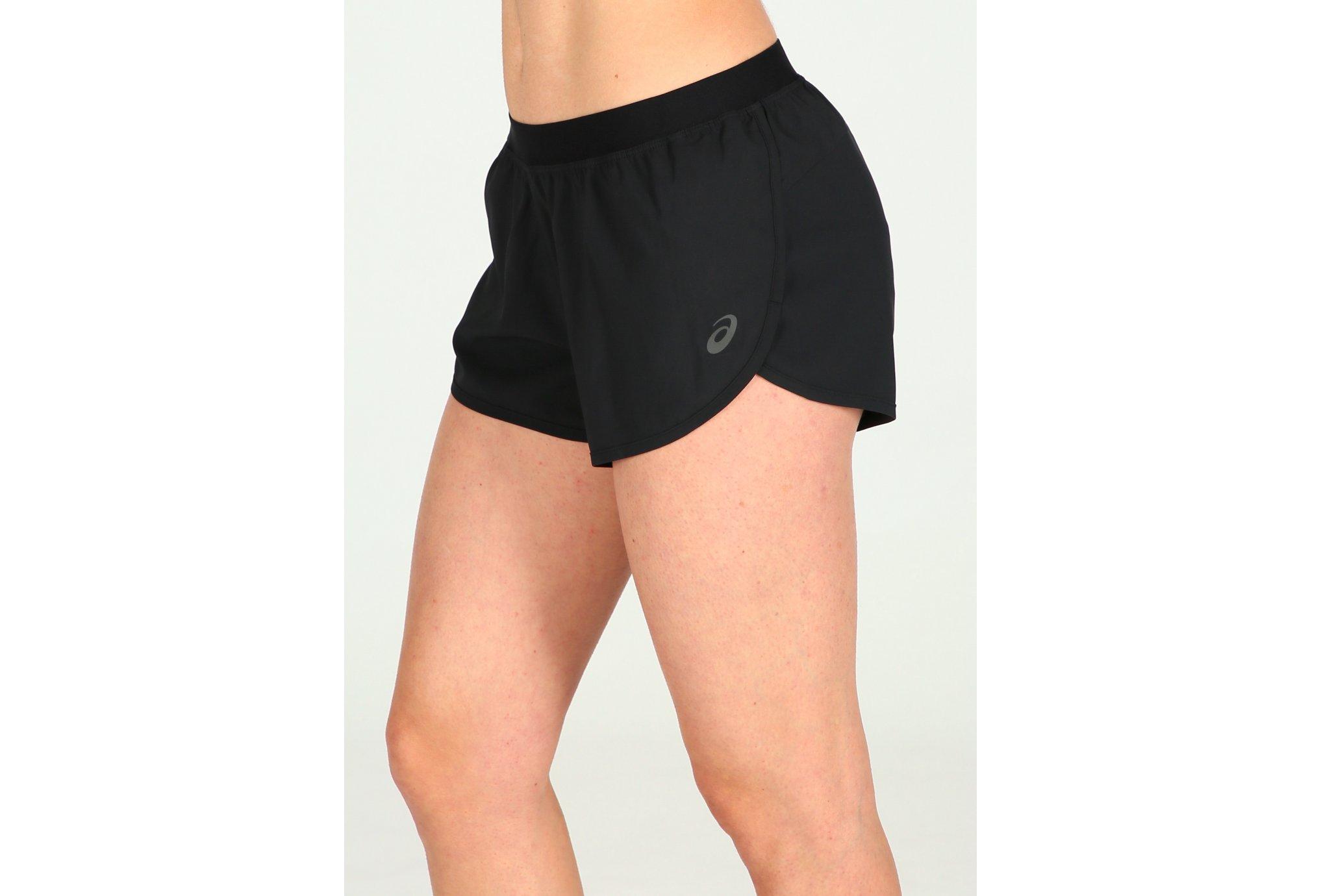 Asics Short 2 en 1 W Diététique Vêtements femme