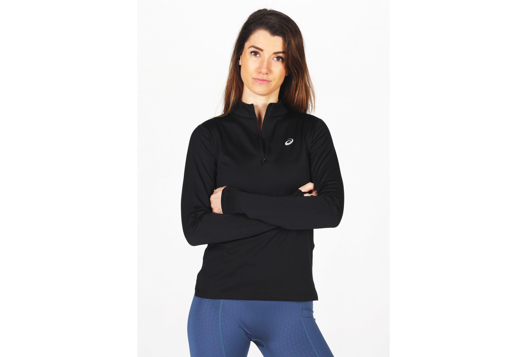 Asics Silver LS 1/2 Zip W vêtement running femme