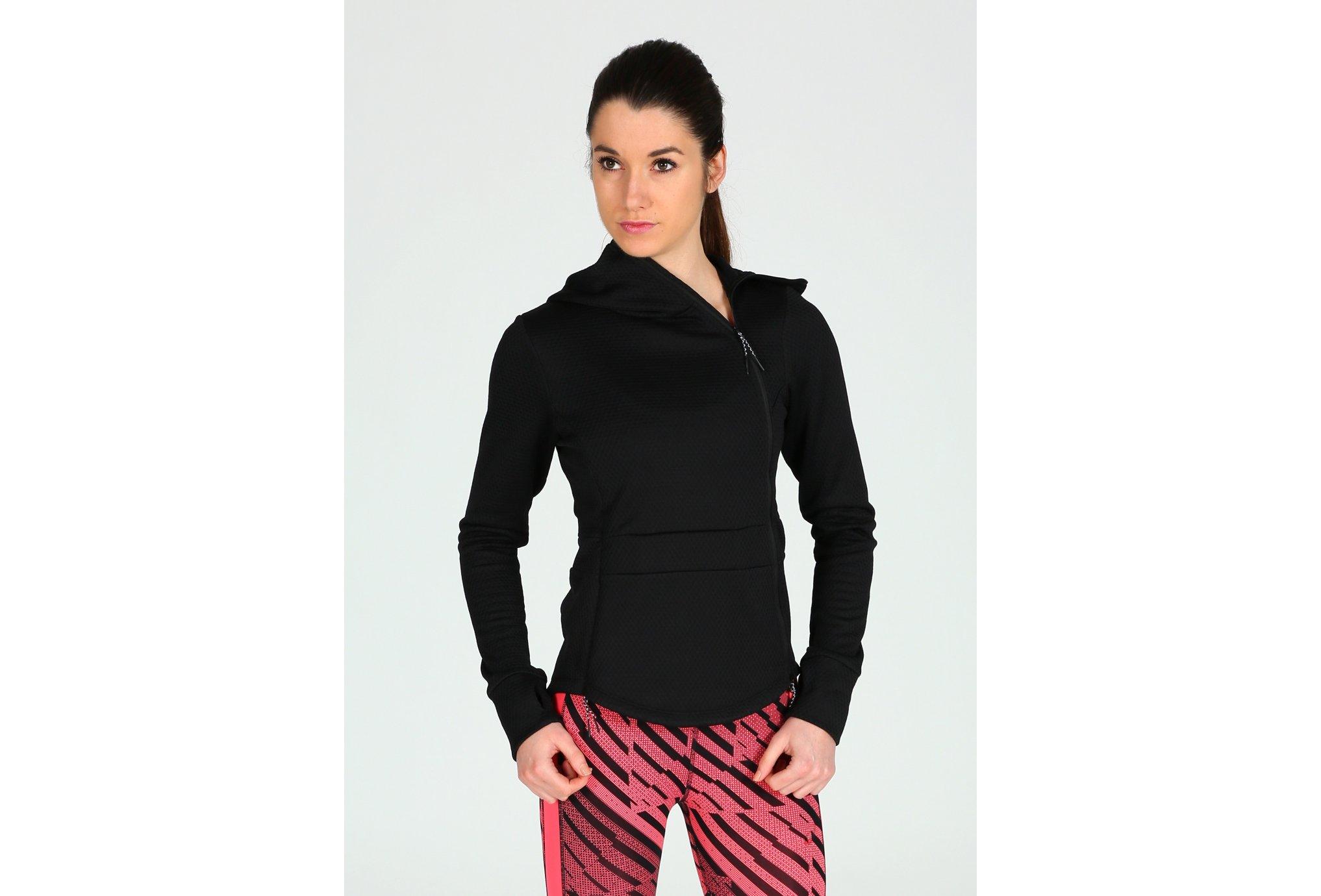 Asics Tech Full Zip W Diététique Vêtements femme