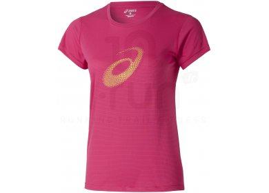 0c623d9335f2 Asics Tee-Shirt Graphic Top W pas cher - Destockage running ...
