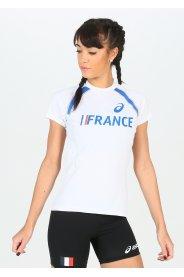 Asics Tee-shirt manches courtes  T&F Équipe de France W