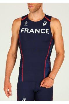 Asics Tee-shirt Rio Équipe de France M
