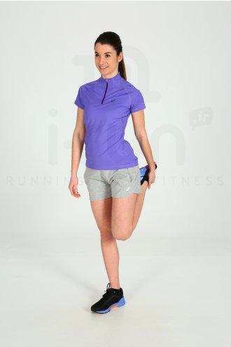 Asics Tee-shirt Speed 1/2 Zip W