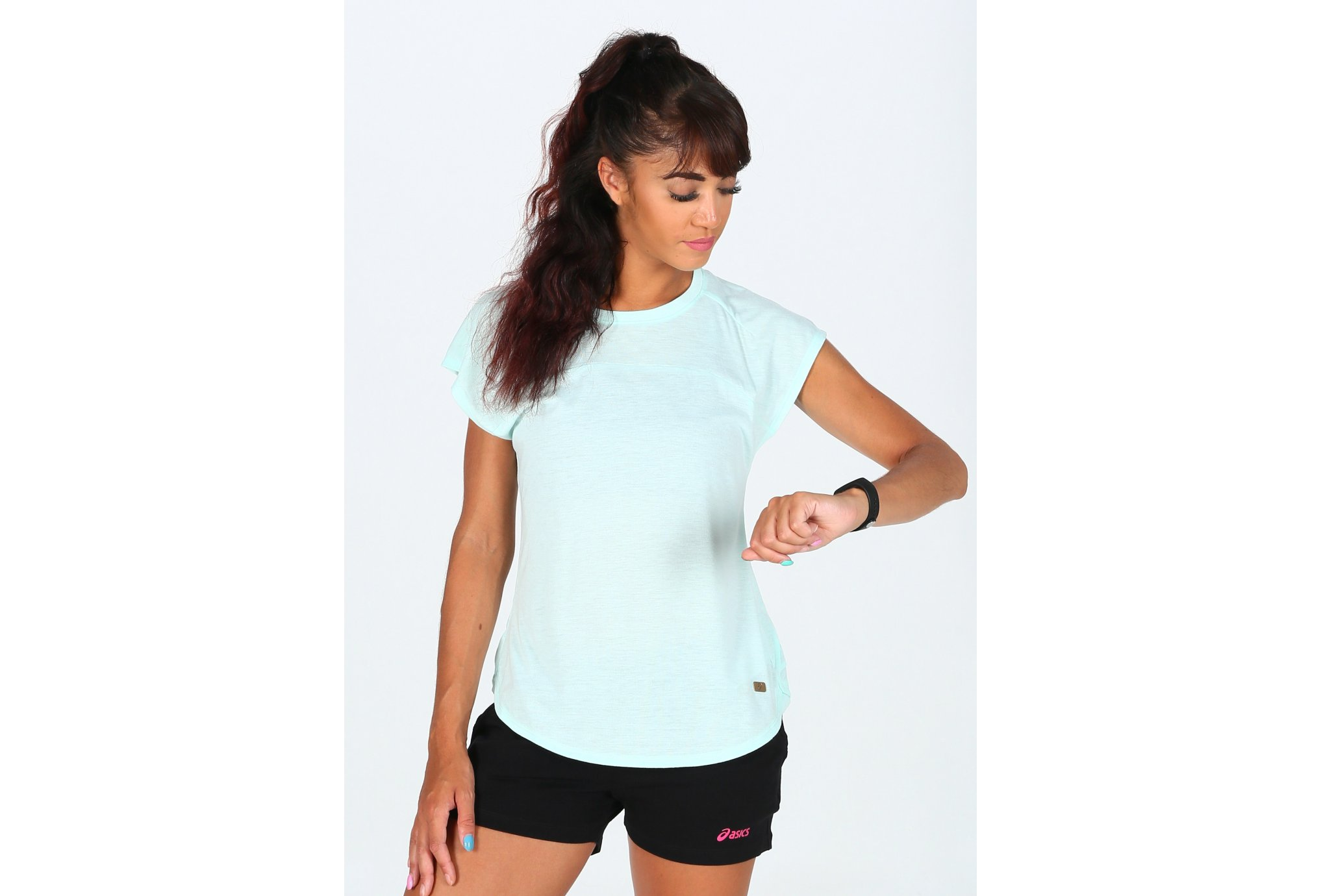 Asics Tee-Shirt Top W vêtement running femme
