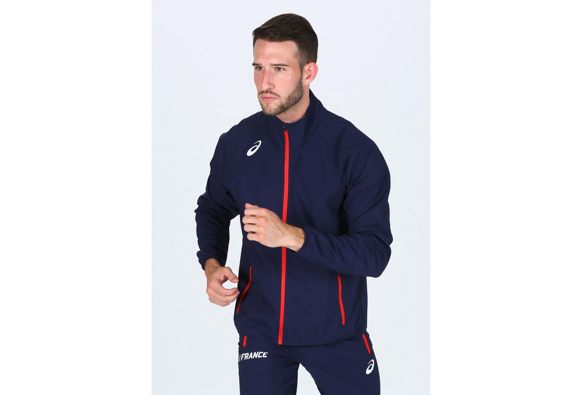 Asics Track France M vêtement running homme