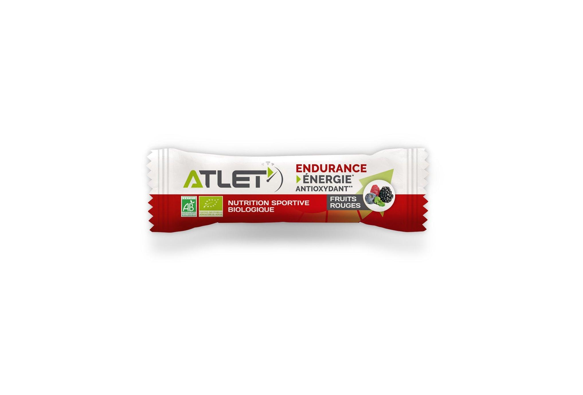 Atlet Barre Énergétique Endurance - Fruits Rouges Diététique Barres