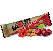 Baouw Barre nutritionnelle bio - Cerise - Amande - Hibiscus