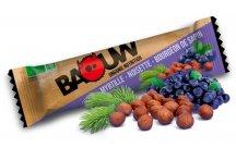Baouw Barre nutritionnelle bio - Myrtille sauvage - Noisette - Bourgeon de sapin
