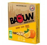Baouw Étui 3 barres nutritionnelles bio - Agrume - Cajou - Piment de Jamaïque