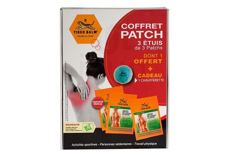 Baume du Tigre Coffret 2 patchs + 1 offert + 1 chaufferette