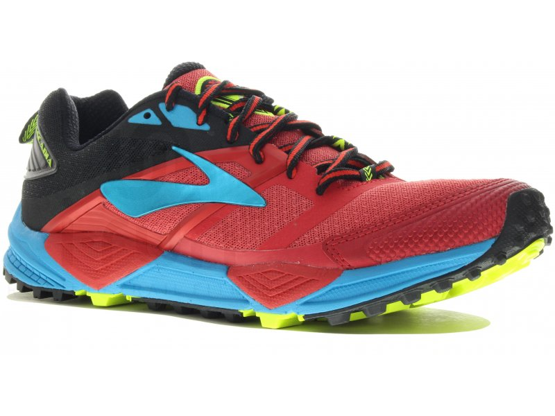 12 M Homme Cascadia Chaussures Trail Brooks rhQdts