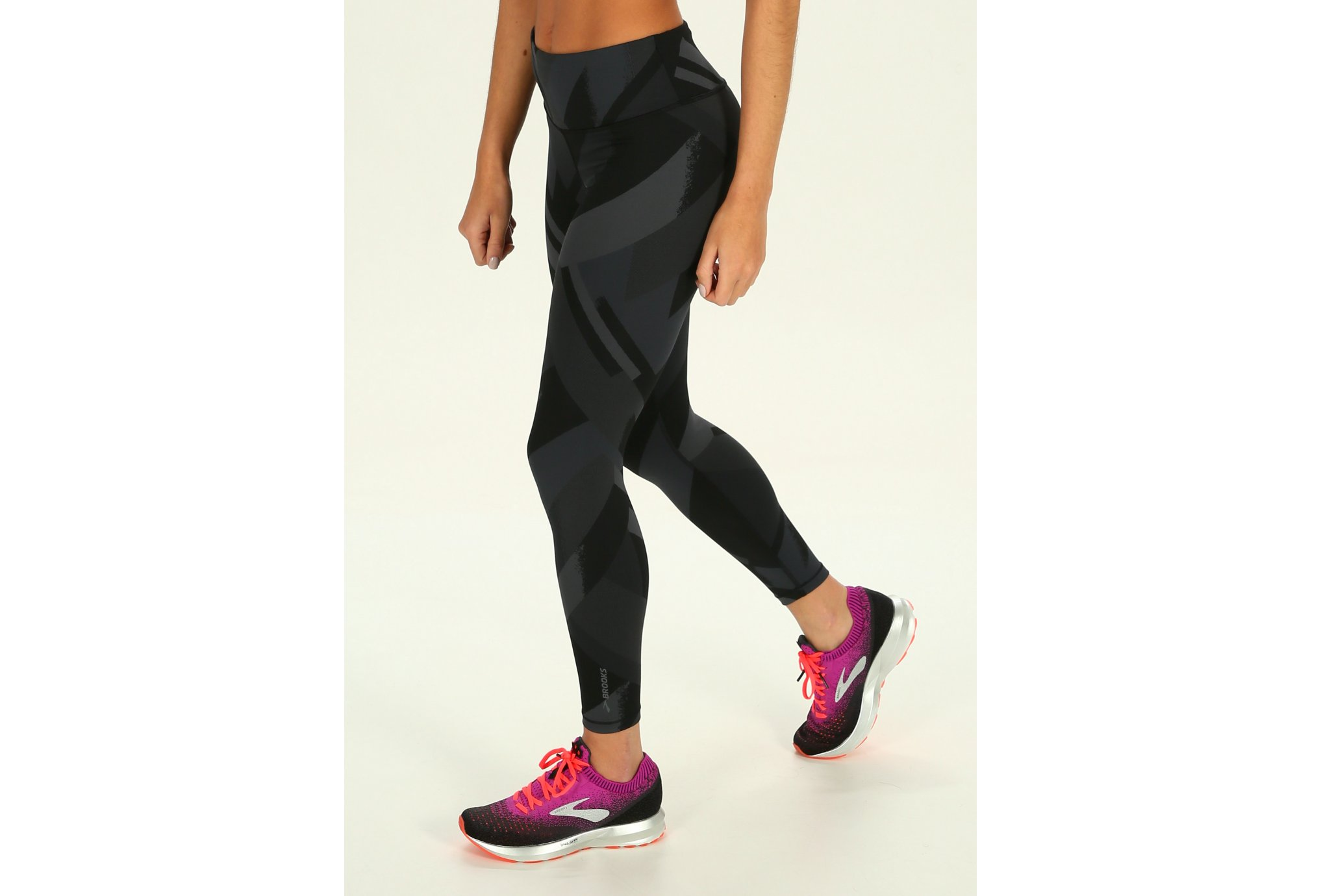 Brooks Mallas Formation Crop vêtement running femme