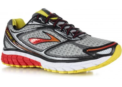 3bf64556a91ad Brooks Ghost 7 M homme Gris argent pas cher