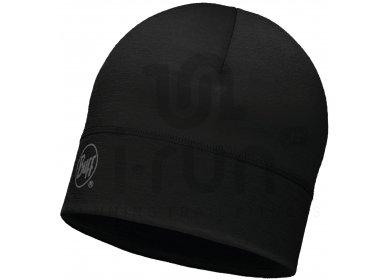 Buff Bonnet Merino Wool Solid Black