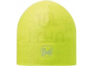 Buff Bonnet Microfibre 2 Layers Solid Yellow Fluor