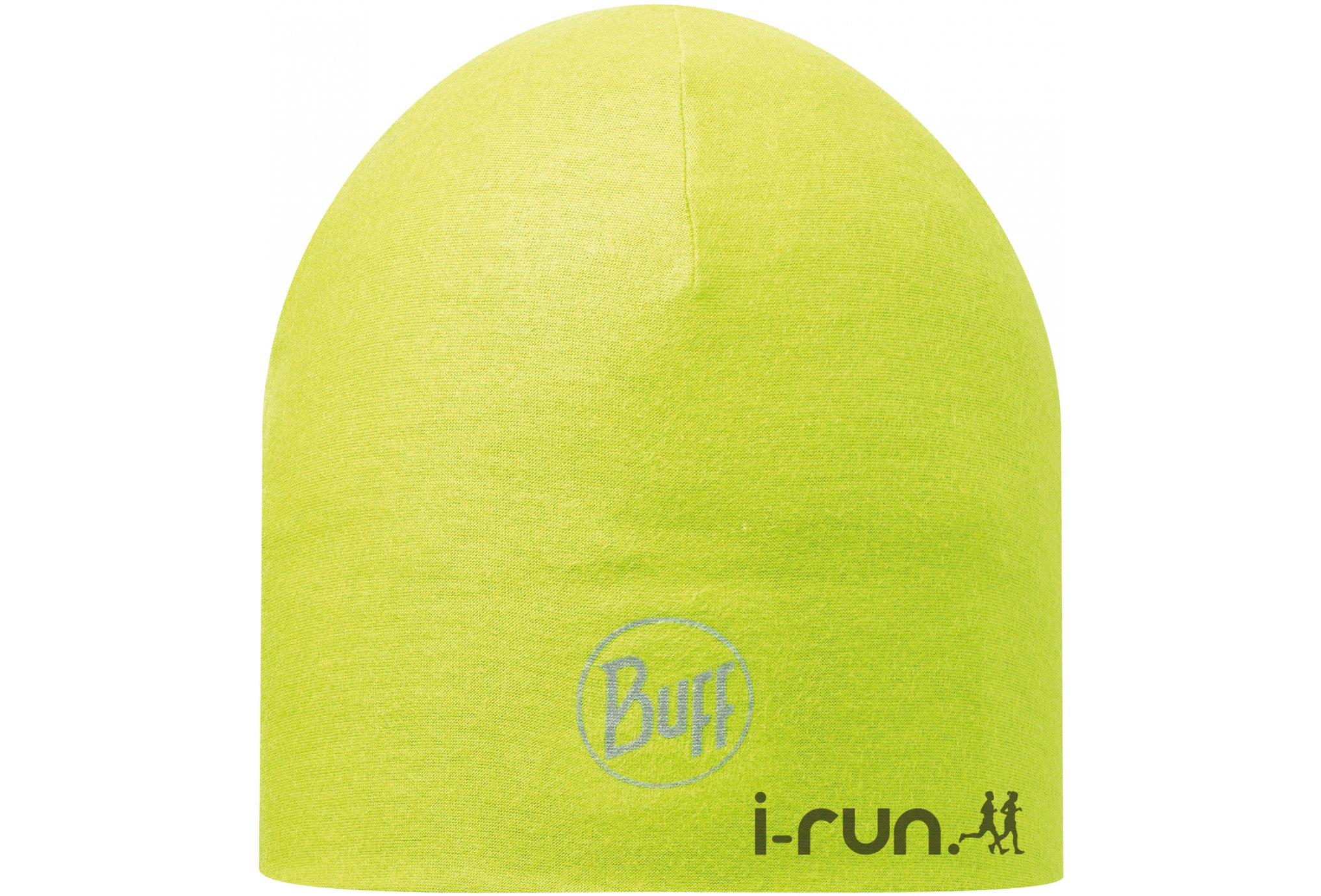 Buff Bonnet microfibre 2 layers solid yellow fluor bonnets / gants