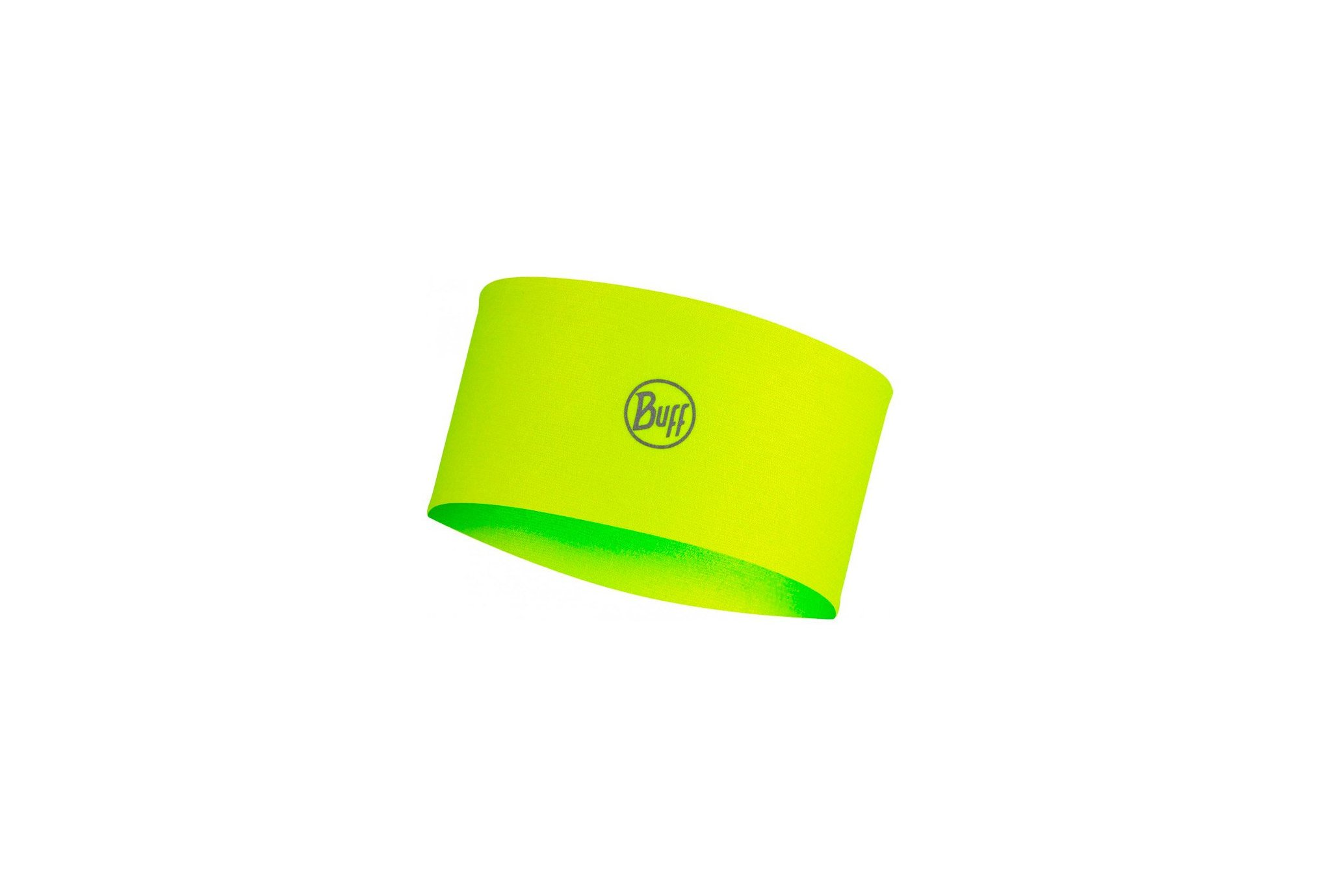 Buff Coolnet UV+ Solid Solid Yellow Fluor Casquettes / bandeaux