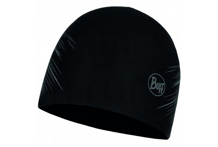 Buff gorro Microfiber Reversible Hat R-Solid Black