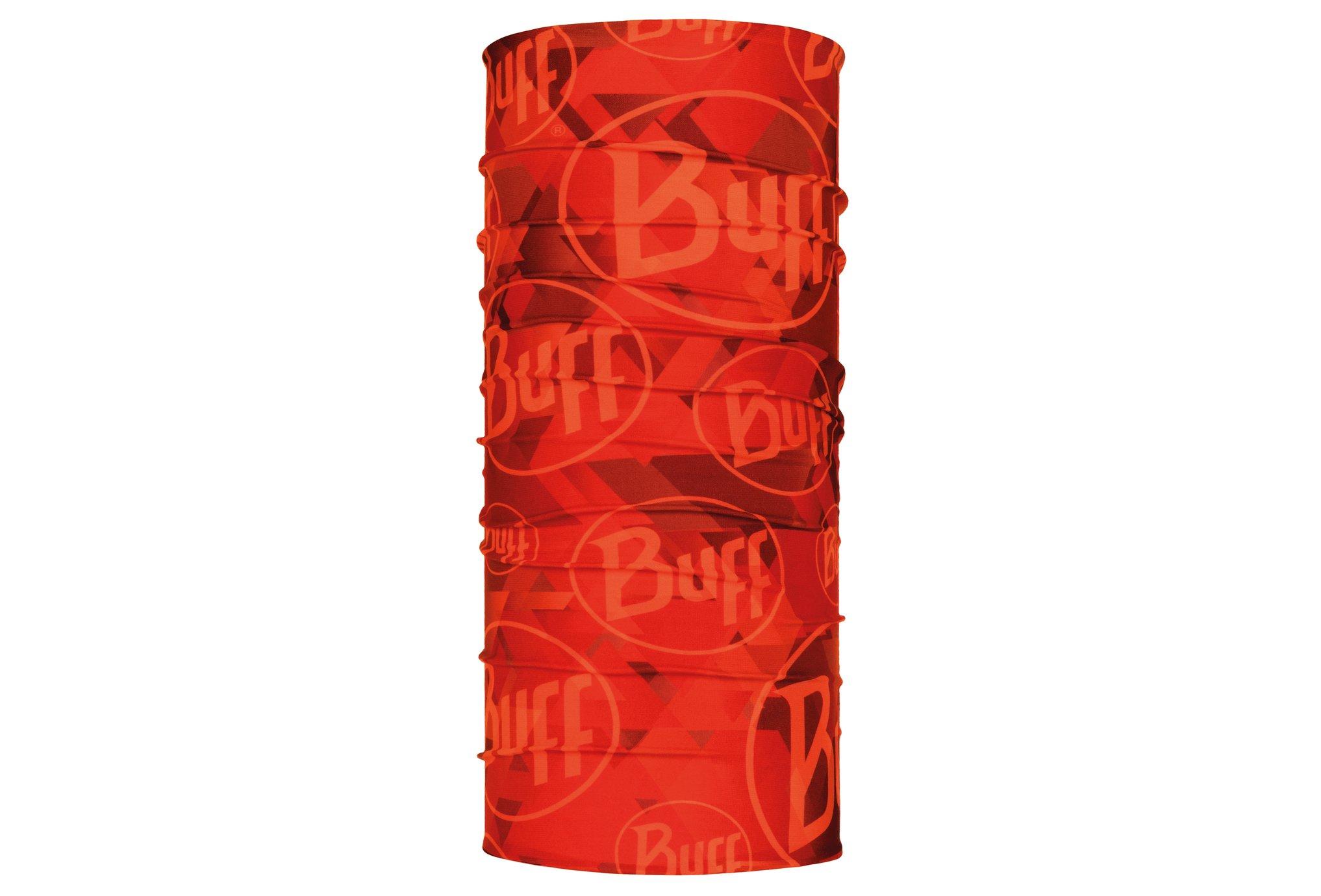 Buff Original Tip Logo Orange Fluor Tours de cou
