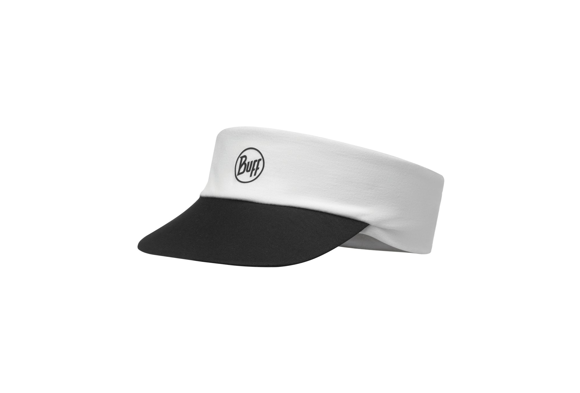 Buff Pack Run Visor R-Solid White Casquettes / bandeaux