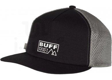 Buff Pack Trucker Cap Solid Black