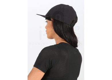 Buff Run Cap R-Solid Black