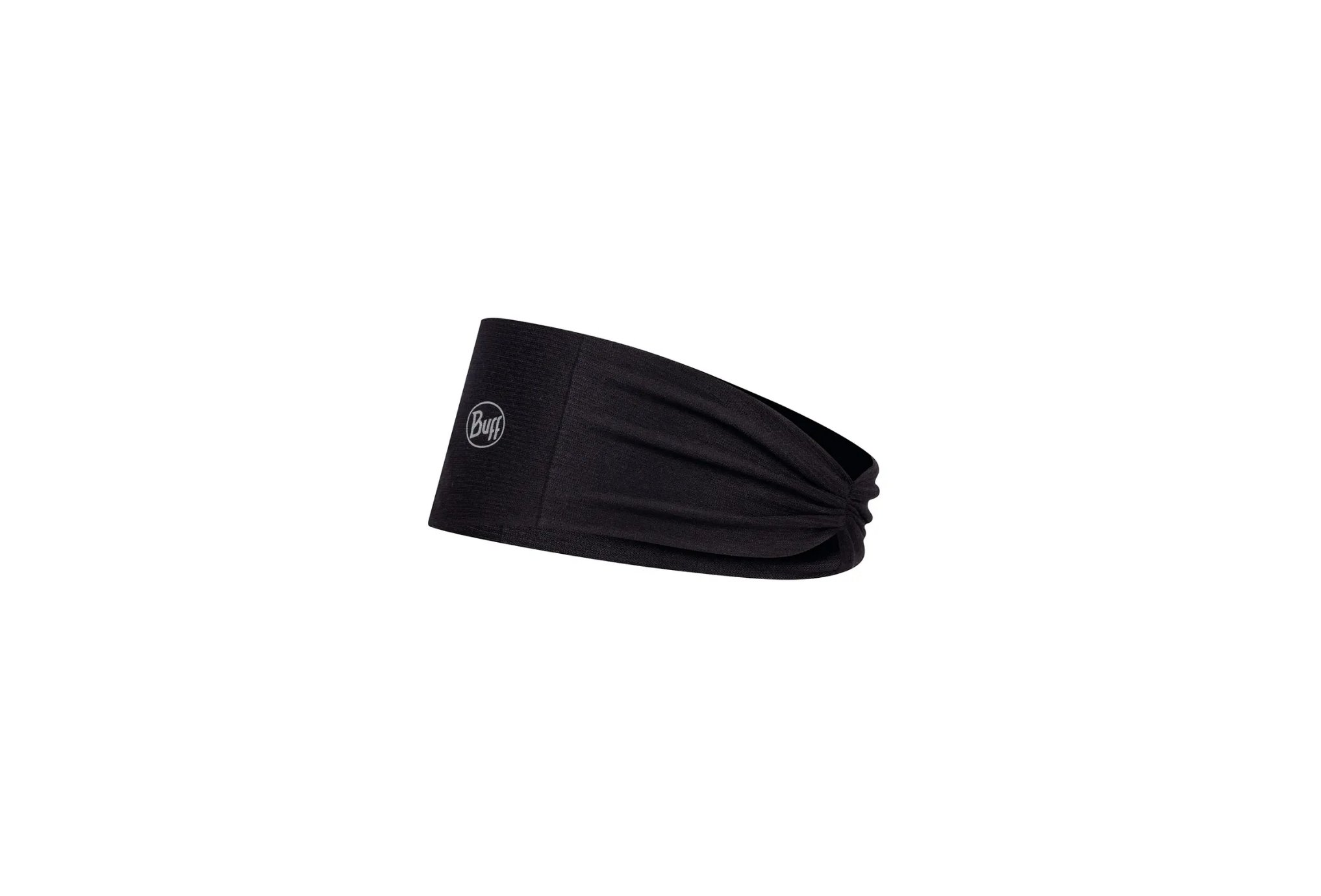 Buff Tapered Coolnet UV+ Solid Black HTR Casquettes / bandeaux
