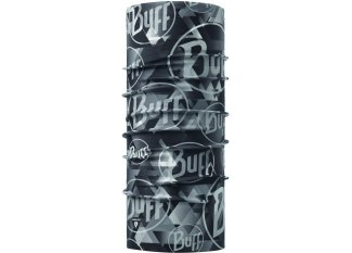 Buff Tubular Thermonet Tip Logo Grey
