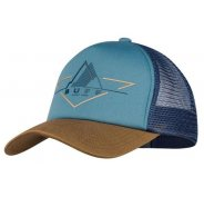 Buff Trucker Cap Brak Stone Blue