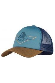 Buff Trucker Cap Brak Stone Blue