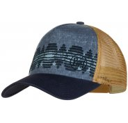 Buff Trucker Cap Tzom Stone Blue