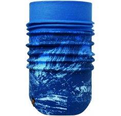 Buff Windproof Neckwarmer Mountain Bits Blue