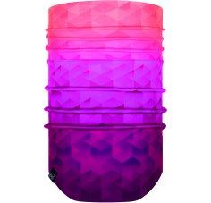 Buff Windproof Neckwarmer Tesia Pink Fluor