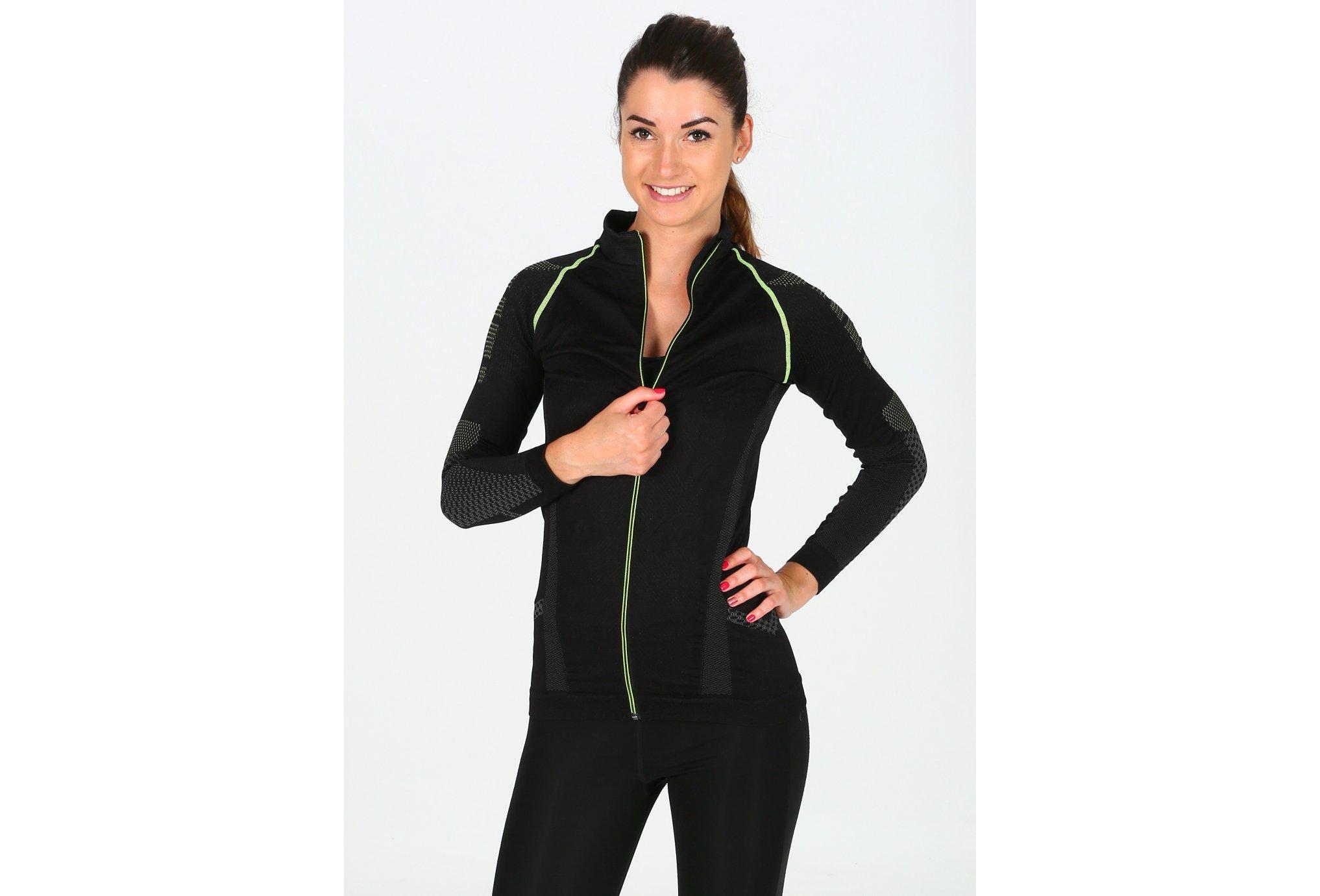 BV Sport Nature 3R Long Zip M Diététique Vêtements femme